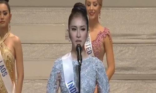 Phần hùng biện của Hoa hậu Quốc tế 2017