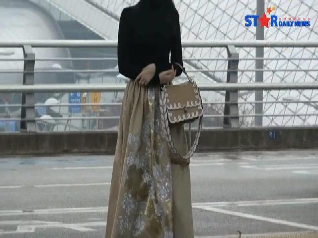 Suzy sân bay