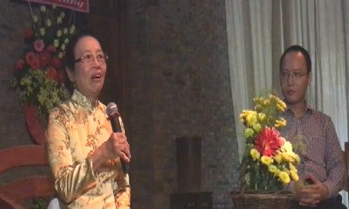 Con gái cố Bộ trưởng Giáo dục Nguyễn Văn Huyên nói về áo dài