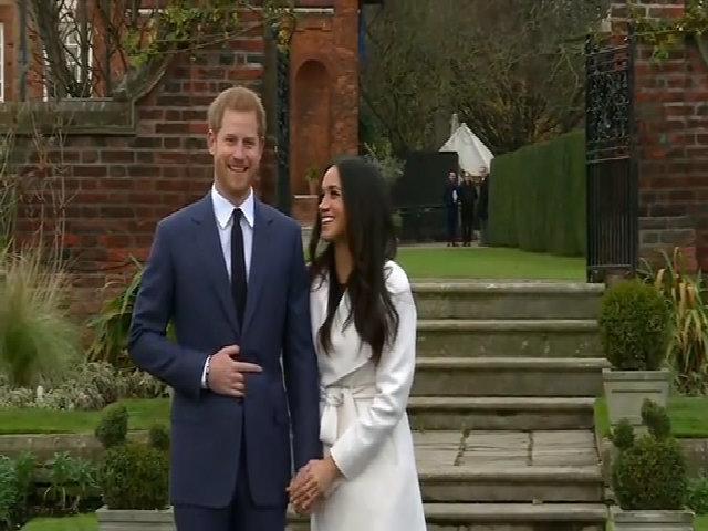 Meghan Markle đính hôn với hoàng tử Harry