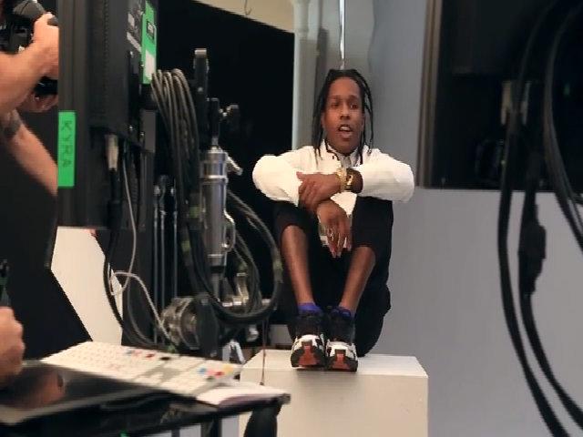 Rapper A$AP Rocky chụp hình cho Teen Vogue