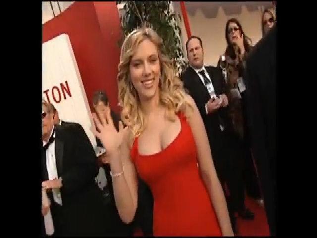 Scarlett Johansson Quả Cầu Vàng 2006