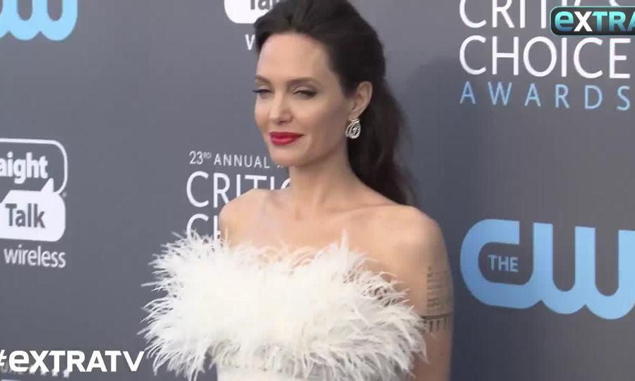 Angelina Jolie Critics' Choice Awards 2018