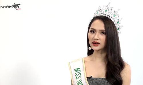 Hương Giang nói về cuộc thi hoa hậu chuyển giới
