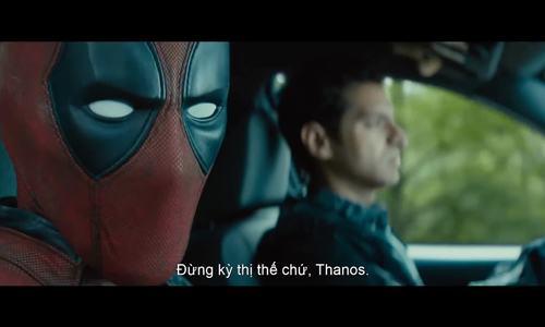 Trailer Deadpool 2 giễu nhại Thanos và vũ trụ điện ảnh DC