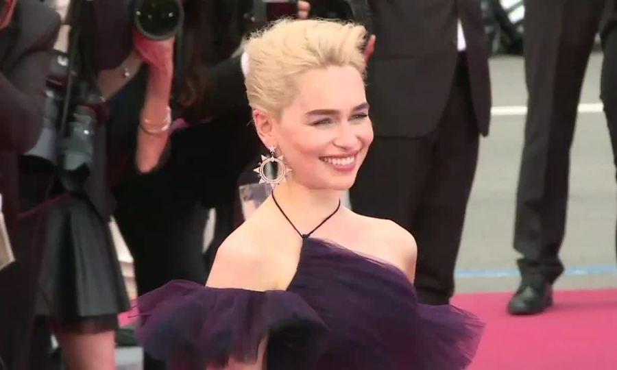 Emilia Clarke và đoàn phim ở Cannes 2018