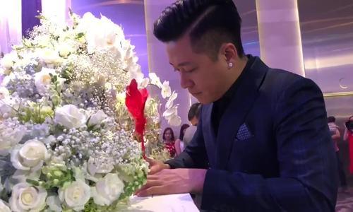 Vợ chồng Tuấn Hưng mừng đám cưới Lâm Vũ và người đẹp Việt kiều - ảnh 3