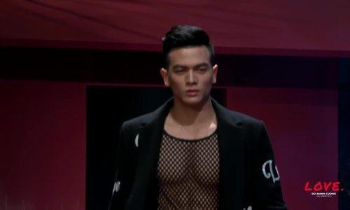 Lê Xuân Tiền catwalk trong show Đỗ Mạnh Cường