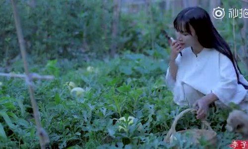 Tien nu Tu Xuyen lai gay xao xuyen voi video cam hoa hai qua