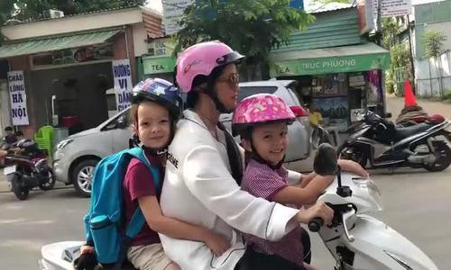 Hong Nhung Chong cu goi dien hoi tham con hang ngay