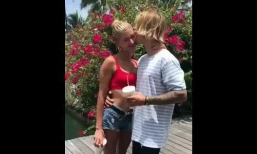 Justin Bieber cau hon nguòi mãu Hailey Baldwin