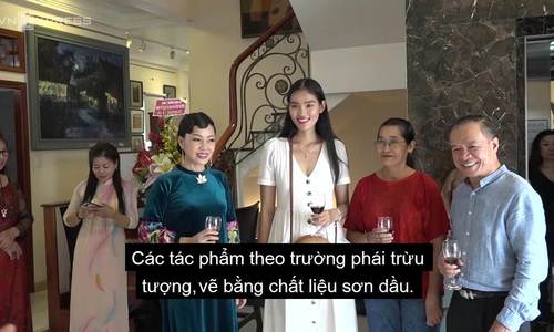 Sac mau Em oi Ha Noi pho qua trien lam cua Phan Vu