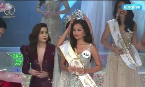 Ngoc Chau dang quang Hoa hau Sieu quoc gia Viet Nam 2018