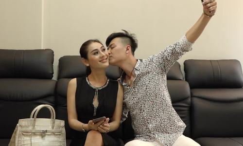 Lam Khanh Chi Vo chong toi tang nhau xe SH tui Hermes