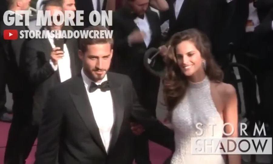 Izabel và Kevin Trapp ở Cannes 2017