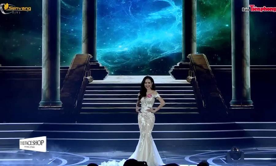 Các phần thể hiện của Hồng Tuyết tại Hoa hậu Việt Nam 2018