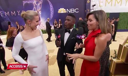 Kristen Bell Emmy 2018