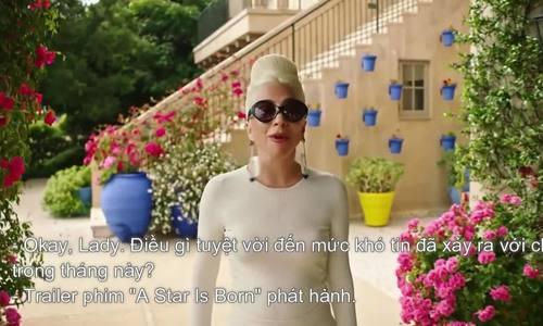 Lady Gaga vao top 100 phu nu quyen luc nganh giai tri My 2018