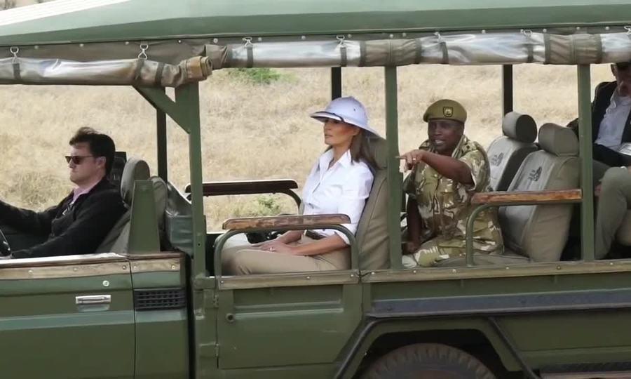 Melania Trump ở chuyến thăm châu Phi