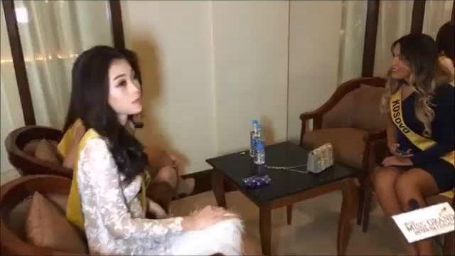 Phương Nga trước giờ phỏng vấn