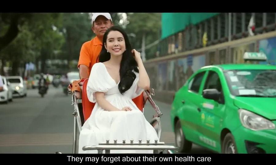 Huỳnh Vy giới thiệu vẻ đẹp TP HCM đến cuộc thi