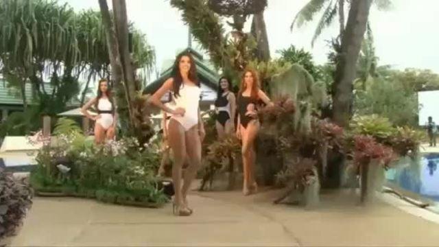 Hoa hậu Paraguay thi bikini