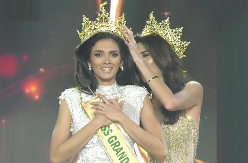 Khoảnh khắc đăng quang Miss Grand International 2018
