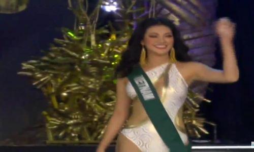 Phương Khánh trình diễn áo tắm, vào top 12 Miss Earth 2018