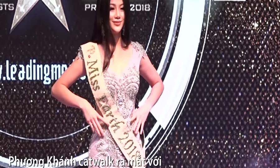 Tân hoa hậu Phương Khánh được chào đón ở buổi họp báo