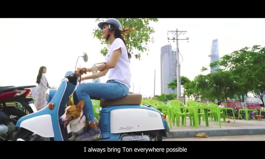 Minh Tú quảng bá vẻ đẹp Sài Gòn khi thi Hoa hậu Siêu quốc gia