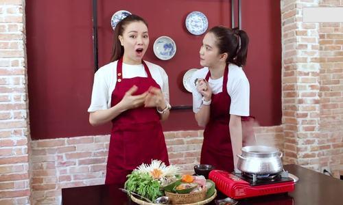 Tra Ngoc Hang Ngoc Trinh tro tai nau lau chim