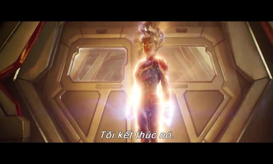 Captain Marvel hé lộ quá trình nữ phi công hóa siêu nhân