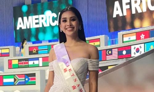 Trần Tiểu Vy: Tôi tiếc vì không thể vào Top 12 Miss World - ảnh 1