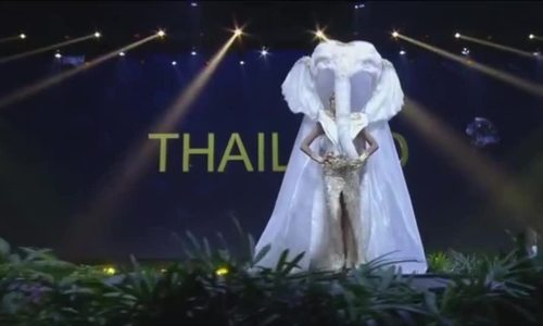 Dan thi sinh Miss Universe 2018 khoe sac voi trang phuc dan toc