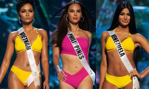 15 màn diẽn bikini xuát sác tai bán két Miss Universe 2018