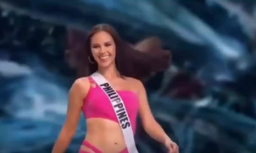 Bon nguoi dep Philippines dang quang Miss Universe