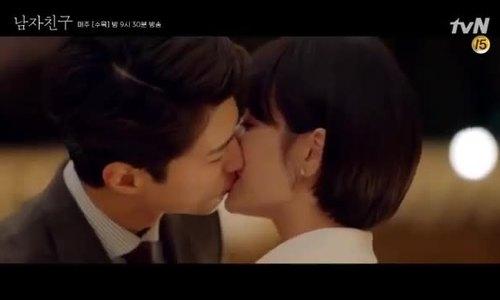 Cảnh hôn Song Hye Kyo - Park Bo Gum