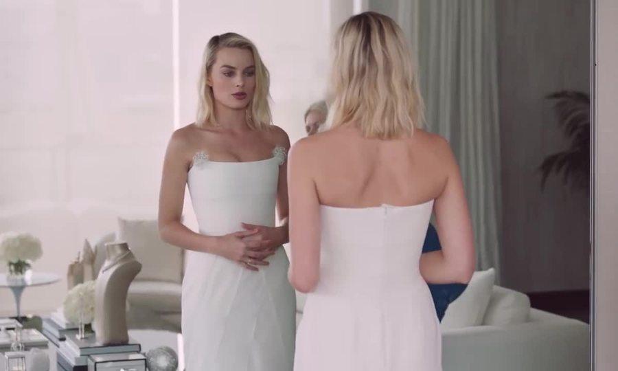 Margot Robbie ở Oscar 2018