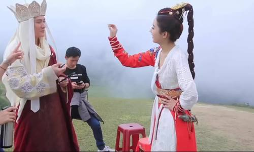 Trieu Le Dinh Phung Thieu Phong cho don con dau long