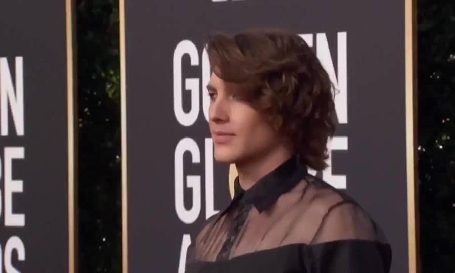 Cody Fern ở Quả Cầu Vàng 2019