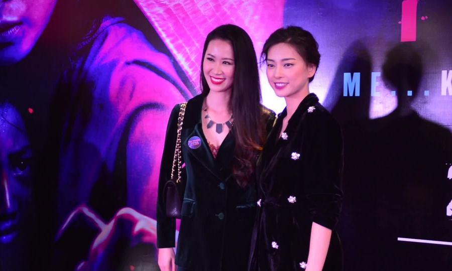 Ngô Thanh Vân ra mắt phim 'Hai Phượng' ở Hà Nội