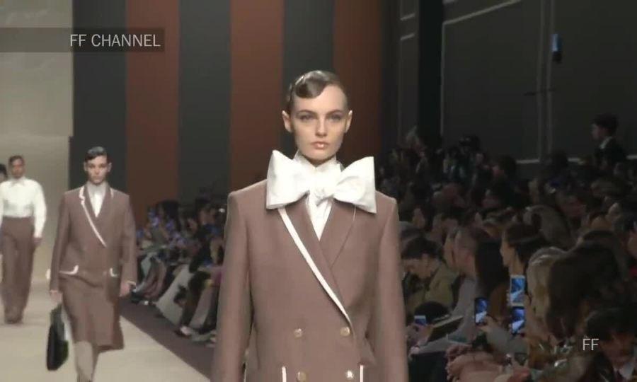 Bộ sưu tập cuối cùng của Karl Lagerfeld dành cho Fendi