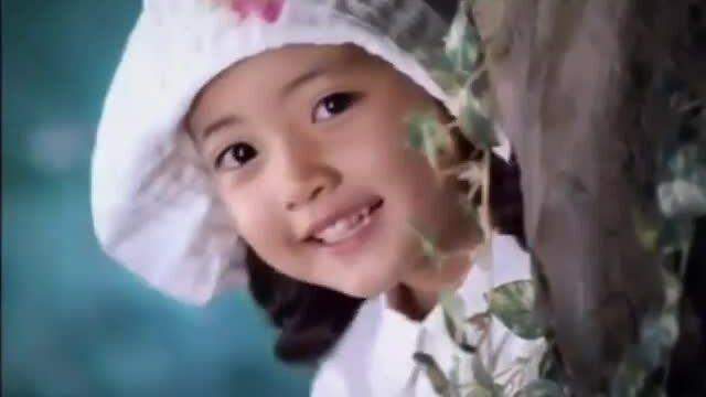 Jung Da Bin lúc 5 tuổi