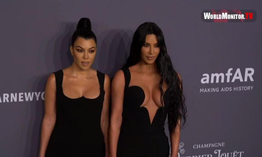 Kim Kardashian ở amfAR 2019