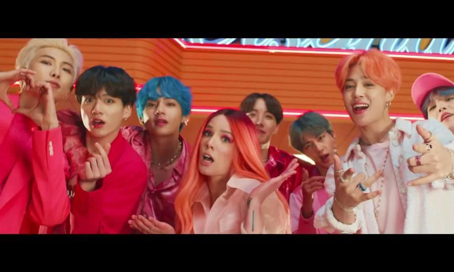 MV 'Boy with Luv' của BTS
