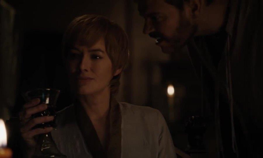 Cersei bắt đầu quan hệ với Euron trong mùa cuối Game of Thrones
