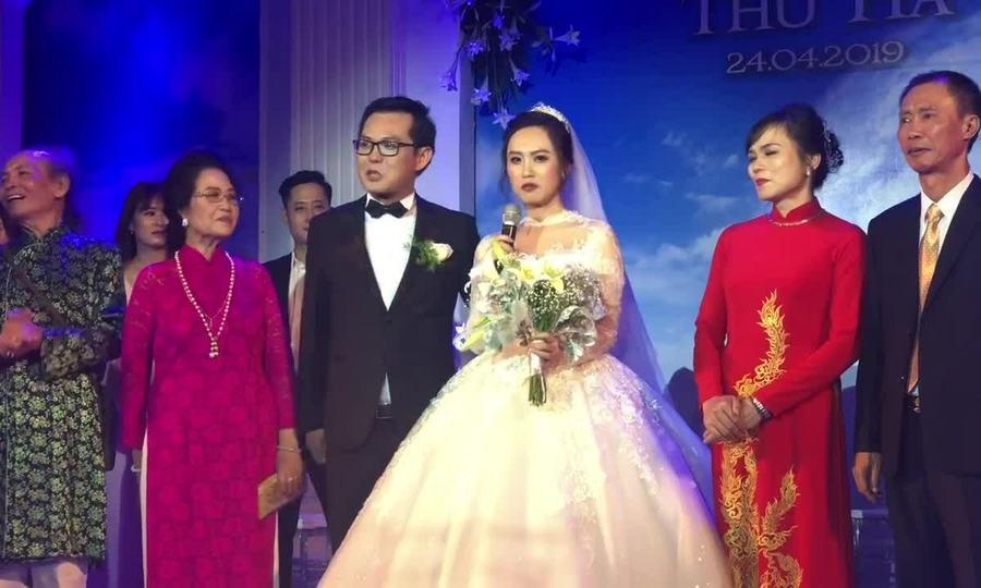 Đám cưới NSND Trung Hiếu ở Hà Nội