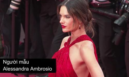 Cannes ngày hai: Đầm cắt xẻ, hở ngực thống trị thảm đỏ - ảnh 1