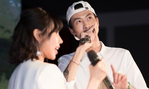 Rapper Đen hát cùng Min nhạc phẩm mới tại sự kiện
