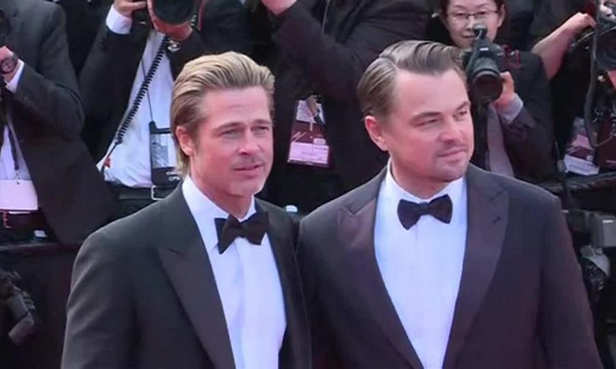 Leonardo DiCaprio và Brad Pitt Cannes 2019